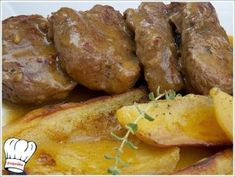 Cooking For Kids Refferal: 3009093833 Pork Tenderloin Recipes, Pork Recipes, Cooking Recipes, Healthy Recipes, Cyprus Food, Meat Cooking Times, Greek Dishes, Main Dishes, Greek Cooking