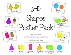These are perfect for a math wall! Everything is in color and black-and-white! This packet includes the following:*6 full size (8.5x11) poster ...