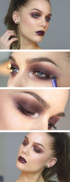 Todays look - Lindas Sminkblogg - love this red earth brown