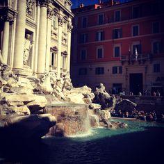 Rome, The Eternal City #FontanaDiTrevi