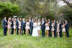 Wedding Party Photos - PHOTO SOURCE • CORY KENDRA PHOTOGRAPHY | Featured on WedLoft