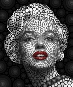portraits made from flowers - Google Search