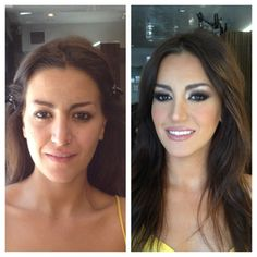 Before And After Of Yesterday S Makeup Makeover Smokeyeye Beautybylindachiriac Art