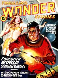 Thrilling Wonder Stories Magazine    #ThrillingWonderStories  #SciFi