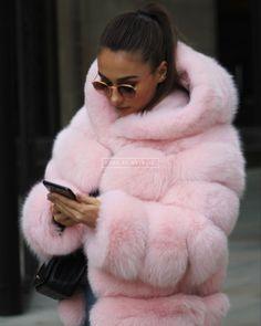 Pink Fur Coat, Fox Fur Coat, Fur Coats, Steampunk Clothing, Gothic Steampunk, Victorian Gothic, Steampunk Fashion, Gothic Lolita, Gothic Fashion