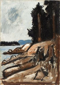 Penobscot Bay, Maine, c 1937, Marsden Hartley