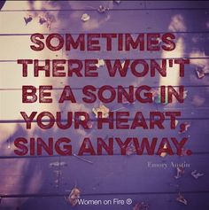 Sing Anyway!!