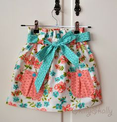 Sew and Tell Review of the Sophia Paper Bag Skirt.  Get this sewing pattern for 25% off during the month of December!!