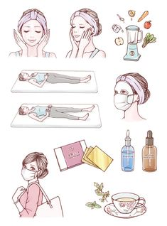Beauty Illustration, Webtoon, Girly Things, Cos Cos, Kawaii, Drawings, Hair Styles, Face, Character