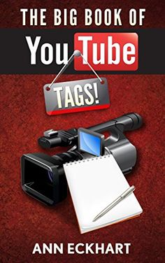 """The Big Book Of YouTube Tags: Dozens Of Fun Quizzes & Questionnaires For Video Creators by Ann Eckhart http://www.amazon.com/dp/B01B73JTZU/ref=cm_sw_r_pi_dp_AHwTwb18JV6CN - Whether you are looking to start a YouTube channel or already have one, filming """"tag"""" videos is a fun and easy way to create content for your channel and to engage with your audience. You don't need a fancy set up – you simply sit in front of the camera, read off the questions and answer them honestly."""