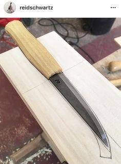 Reid Schwarts sloyd knives