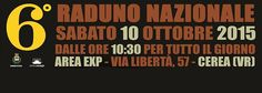 Sabato 10 ottobre 2015, a partire dalle ore 10:30, presso l'Area Exp di Cerea (VR), si terrà il 6° Raduno Nazionale Blues Made In Italy. #madeinitaly #blues