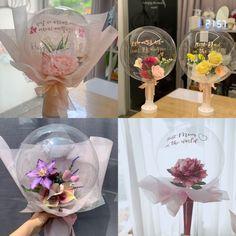 Balloon Crafts, Balloon Gift, Balloon Flowers, Balloon Bouquet, Birthday Balloon Decorations, Birthday Balloons, Surprise Box Gift, Valentine's Day Gift Baskets, Birthday Bouquet