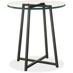 Tables ($229) ❤ liked on Polyvore featuring home, furniture, tables, accent tables, table, steel table, steel furniture and steel table base