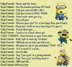 Best memes best friends funny minions quotes 62 id Minion Humour, Funny Minion Memes, Funny School Jokes, Best Funny Jokes, Crazy Funny Memes, Really Funny Memes, Minions Quotes, Funny Cartoons, Funny Facts
