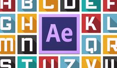 These free After Effects templates and typefaces feature great typography for you to use in your next video editing or motion design project.