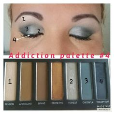 New Addiction palette #4 available 15th september