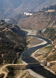 Wangdue Dzong Bhutan