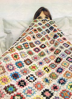 Instatant dowload 206. Beautiful crochet Blanket  Granny Squares Afghan  Throw Crochet Pattern  - PDF - Instant download on Etsy, $3.28