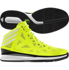 adidas neon green basketball shoes
