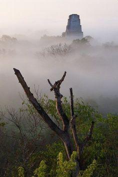 Exploring Maya ruins in Guatemala's Tikal National Park