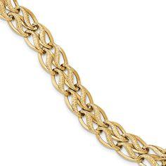 14K 7.5in Bracelet