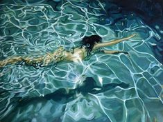 Inspiration Artistique, Underwater Painting, Underwater Photos, Painting Art, Modern Metropolis, Water Art, Realistic Paintings, Traditional Paintings, Pictures To Paint