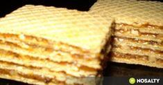Karamellás ostya recept képpel. Hozzávalók és az elkészítés részletes leírása. A karamellás ostya elkészítési ideje: 45 perc