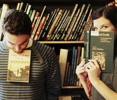Pinterest Found: 25 Dates You'll Both Love: Test Drive His Literary Side #SelfMagazine