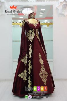 Kaftan-1062 Turkish Wedding Dress, Silk Anarkali Suits, Medieval Gown, Cheongsam, Ao Dai, Nice Dresses, Awesome Dresses, The Dress, Bridal Dresses