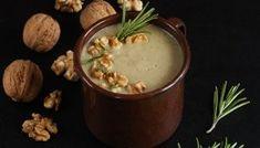 Zupa-krem z topinamburu z gruszką Moscow Mule Mugs, Fondue, Pudding, Cheese, Tableware, Ethnic Recipes, Desserts, Tailgate Desserts, Dinnerware