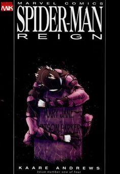 Spider-Man Reign #1 B Cover B Black Costume Variant: Kaare Andrews: Amazon.com: Books