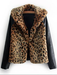 Leopard & Leather. Oh my.