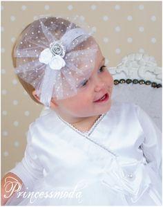 Nr.80 Weiss-Silber! Wunderschön! - Princessmoda - Alles für Taufe Kommunion und festliche Anlässe