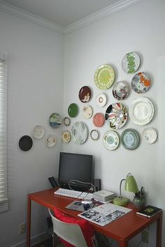 Feeds my hobby of plate collecting!