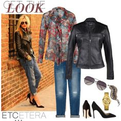 Get the Look: #MOTOJACKET | #Etcetera Fall 2013