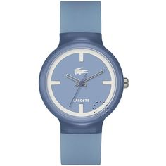 LACOSTE GOA Light Blue Rubber Strap  69€  Αγοράστε το εδώ: http://www.oroloi.gr/product_info.php?products_id=28350