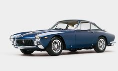 Designed by Pininfarina and bodied by Carrozzeria Scaglietti, the Ferrari you see here blends the sporty nature the manufacturer is known for with the elegance and sophistication of a Grey Poupon commercial. Hitting the auction block at RM Sothebys, the short-lived Ferrari 250 GT/L Berlinetta Lusso is expected to fetch