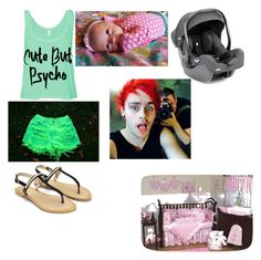 """bring hone a baby with michael"" by brandy-aker ❤ liked on Polyvore"