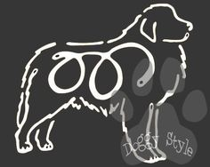 K Line Great Pyrenees Dog Car Window Decal Tattoo http://doggystylegifts.com/products/k-line-great-pyrenees-dog-car-window-decal-tattoo