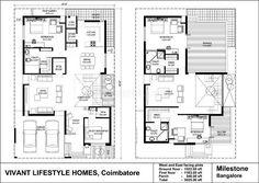 30x40 2 Bedroom House Plans Plans For East Facing Plot Vastu Plan Seris C V