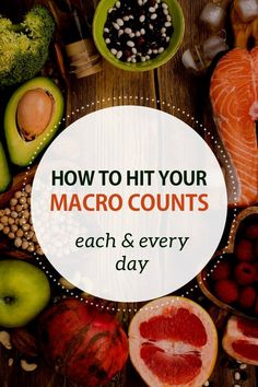 Out of a Macro? Here's What to Eat. Learn how to reach your target macros every day.