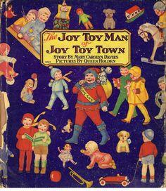 The Joy Toy Man of Joy Toy Town by Mary Carolyn Davies (1929)