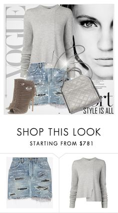 """""""Style is all"""" by sandrayara ❤ liked on Polyvore featuring GE, Yves Saint Laurent, Proenza Schouler and Jimmy Choo"""