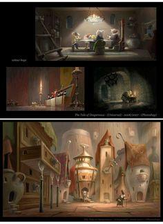 Patrick Muylkens - The Tale of Despereaux concept art