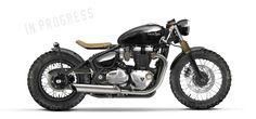 Motorräder - twinton Triumph Cafe Racer, Triumph Motorcycles, Triumph Bobber Custom, Concept Motorcycles, Indian Motorcycles, Cool Motorcycles, Vintage Motorcycles, Bobber Bikes, Bobber Motorcycle