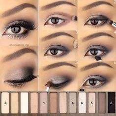 Delineated, smoky, colors, shapes and techniques to make up your eyes every time We propose ten eye makeup looks for different tastes and. Eye Makeup Tips, Smokey Eye Makeup, Skin Makeup, Makeup Inspo, Makeup Eyeshadow, Dead Makeup, Makeup Dupes, Smoky Eye, Round Eye Makeup