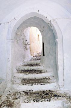 Pyrgos castle entrance, Santorini