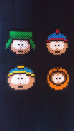 South Park Character Heads by sensationcreations12 on Etsy, $7.00