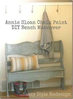 DIY Furniture : Bench Makeover